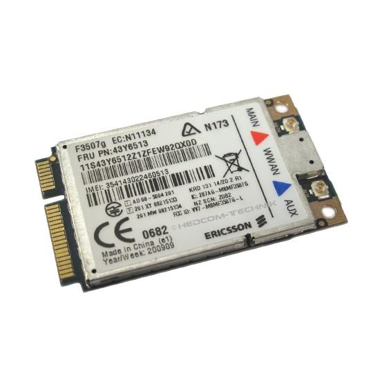 Ericsson F3507g UMTS HSDPA 7,2 Mbps FRU 43Y6479 Karte