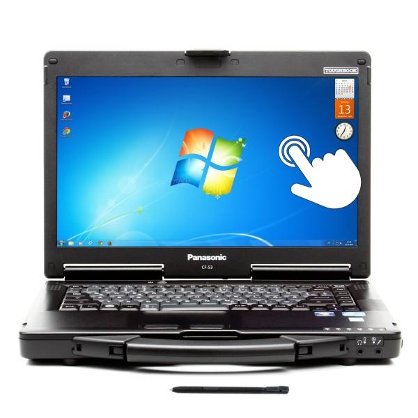 Panasonic Toughbook CF-53 MK2, i5 3320M 2,60 GHz, 4GB, 250GB, Touchscreen