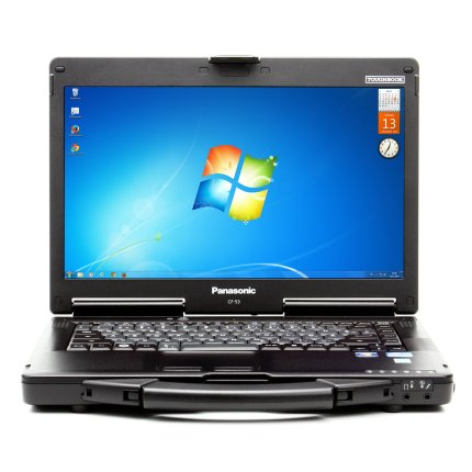 Panasonic Toughbook CF-53 MK3, i5 3340M 2,70 GHz, 8GB, 256GB SSD, 14 Zoll