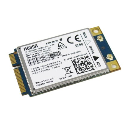 Dell 5540 WWAN 3G Mobile Broadband H039R Ericsson F3607gw