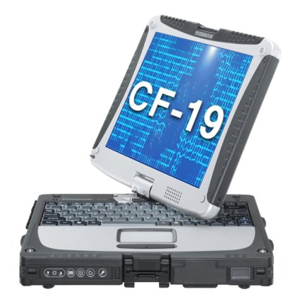 Panasonic Toughbook CF-19 MK6, Intel Core i5-3320M 2.6 GHz, 4GB, 500GB