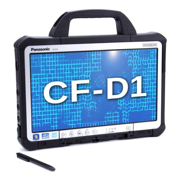 Panasonic Toughbook CF-D1, Intel Core i5-2520M, 2.5GHz, 4GB, 256GB SSD