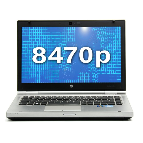 HP EliteBook 8470p, Intel Core i5-3210M 2,50GHz, 4GB, 180GB SSD