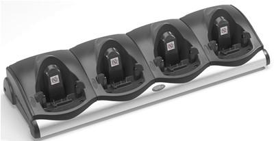 Symbol CRD9000-4001ER für MC9000 Serie 4-Slot Ethernet Cradle, Ladestation