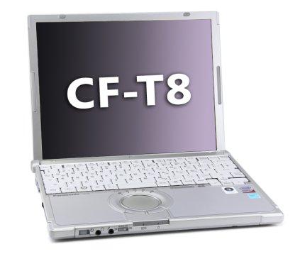 Panasonic Toughbook CF-T8, Core 2 Duo SU9300 1.2GHz, 3GB, UMTS