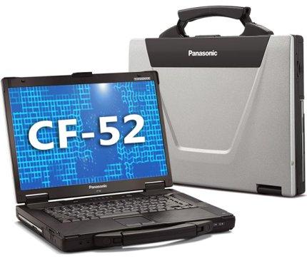 Panasonic Toughbook CF-52 MK3, Core i5 540M 2,53 GHz, 4GB, 320GB, 15.4 Zoll