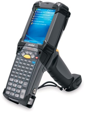 Motorola MC9090-GK0HJFQA6WR Wireless 2D Barcode Scanner